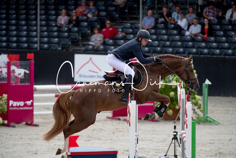 Snels Zoi, NED, Jappeloup<br /> KWPN Kampioenschappen - Ermelo 2018<br /> © Hippo Foto - Dirk Caremans<br /> 16/08/2018