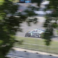 Detroit, MI - Jun 03, 2016:  The Magnus Racing Audi R8 LMS GT3 races through the turns at the Detroit Grand Prix at Belle Isle Park in Detroit, MI.