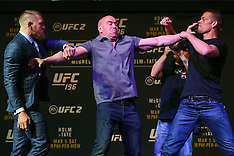 March 3, 2016 - UFC 196 Ultimate Media Day
