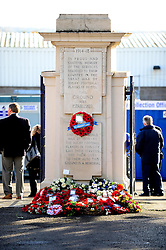 Memorial service at the Memorial Stadium - Mandatory by-line: Dougie Allward/JMP - 11/11/2016 - FOOTBALL - Memorial Stadium - Bristol, England - Bristol Rugby Memorial Service