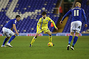 Millwalls Diego Fabbrini during the Sky Bet Championship match between Birmingham City and Millwall at St Andrews, Birmingham, England on 10 February 2015. Photo by Shane Healey.