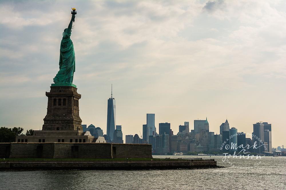 Statue of Liberty, Liberty Island, New York Harbor, New York City, New York, USA
