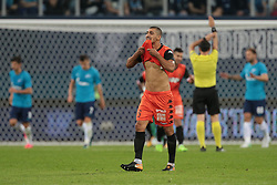 August 3, 2017 - Saint Petersburg, Russia - Ayad Habashi of FC Bnei Yehuda reacts during the UEFA Europa League match, Third Qualifying Round, 2nd Leg between FC Zenit St. Petersburg and FC Bnei Yehuda at Saint Petersburg Stadium on August 03, 2017 in St. Petersburg, Russia. (Credit Image: © Igor Russak/NurPhoto via ZUMA Press)