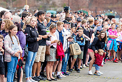 Fans gather prior to the players arrival - Ryan Hiscott/JMP - 01/07/2018 - RUGBY UNION - The Quay - Exeter, England.