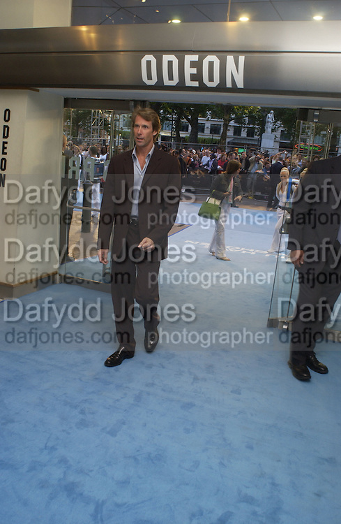 "Michael Bay. The UK Premiere of ""The Island"" at the Odeon Leicester Square, London. 7 August 2005. , ONE TIME USE ONLY - DO NOT ARCHIVE  © Copyright Photograph by Dafydd Jones 66 Stockwell Park Rd. London SW9 0DA Tel 020 7733 0108 www.dafjones.com"