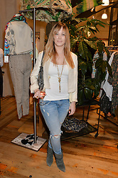 ELLIE SHEPHERD at a party to celebrate the publication of 'Inspire: The Art of Living With Nature' by Willow Crossley held at Anthropologie, 131-141 Kings Road, London on 13th March 2014.