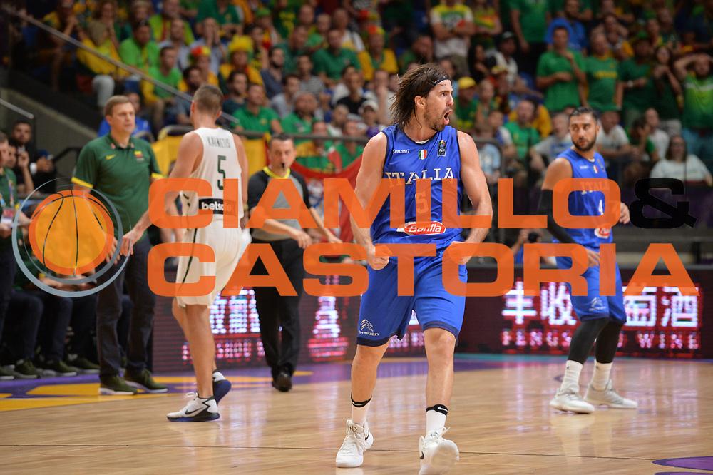 Ariel Filloy<br /> Nazionale Italiana Maschile Senior<br /> Eurobasket 2017 - Group Phase<br /> Lituania - Italia<br /> FIP 2017<br /> Tel Aviv, 03/09/2017<br /> Foto Ciamillo - Castoria/ M.Longo
