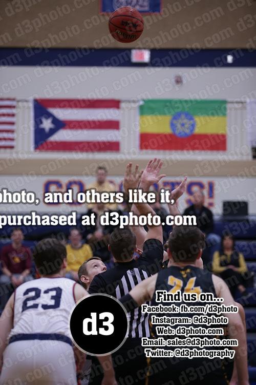 Men's Basketball: Macalester College Scots vs. Gustavus Adolphus College Gusties