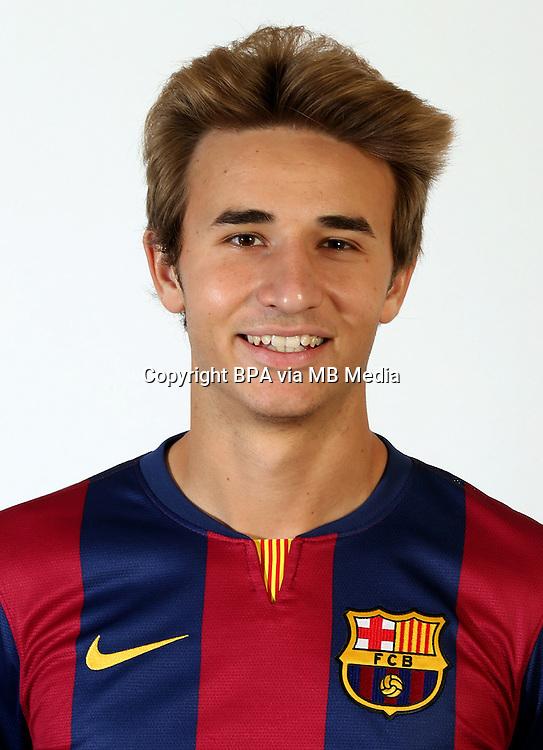 Spain - La Liga Adelante 2014-2015 / <br /> ( F.C. Barcelona &quot; B &quot; )<br /> Sergi Samper Montana