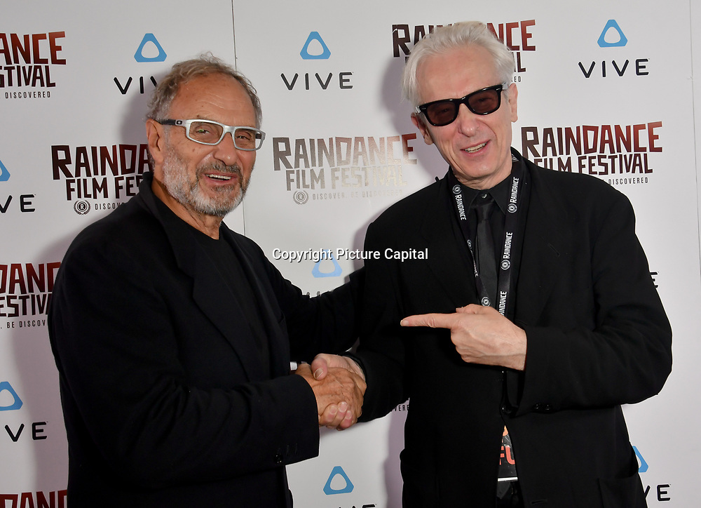 Elliot Grove and Enzo Sisti Nominated attends the Raindance Film Festival - VR Awards, London, UK. 6 October 2018.