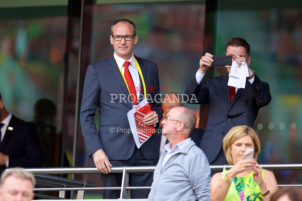 DUBLIN, REPUBLIC OF IRELAND - Saturday, August 5, 2017: Liverpool FC executives before a preseason friendly match between Athletic Club Bilbao and Liverpool at the Aviva Stadium. (Pic by David Rawcliffe/Propaganda) xxxx