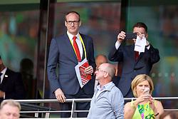 DUBLIN, REPUBLIC OF IRELAND - Saturday, August 5, 2017: Liverpool FC executives before a preseason friendly match between Athletic Club Bilbao and Liverpool at the Aviva Stadium. (Pic by David Rawcliffe/Propaganda) xxxx