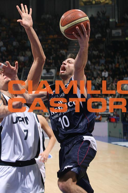 DESCRIZIONE : Bologna Lega A1 2007-08 Upim Fortitudo Bologna Angelico Biella<br /> GIOCATORE : Daniele Cinciarini<br /> SQUADRA : Angelico Biella<br /> EVENTO : Campionato Lega A1 2007-2008 <br /> GARA : Upim Fortitudo Bologna Angelico Biella<br /> DATA : 09/03/2008<br /> CATEGORIA : Tiro<br /> SPORT : Pallacanestro <br /> AUTORE : Agenzia Ciamillo-Castoria/M.Marchi<br /> Galleria : Lega Basket A1 2007-2008<br /> Fotonotizia : Bologna Campionato Italiano Lega A1 2007-2008 Upim Fortitudo Bologna Angelico Biella<br /> Predefinita :