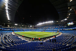 A general view of The Etihad Stadium - Photo mandatory by-line: Matt McNulty/JMP - Mobile: 07966 386802 - 04/03/2015 - SPORT - football - Manchester - Etihad Stadium - Manchester City v Leicester City - Barclays Premier League