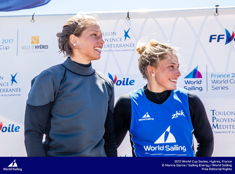 The 2017 World Cup Series in Hyères, France from 23-30 April will welcome over 540 sailors from 52 nations racing across the ten Olympic events as well as Open Kiteboarding and the 2.4 Norlin OD, a Para World Sailing event. @Marina Garcia / Sailing Energy / World Sailing