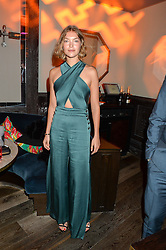 ARIZONA MUSE at the Fashion Targets Breast Cancer 20th Anniversary Party held at 100 Wardour Street, Soho, London on 12th April 2016.