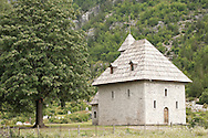 Church in Theth, Peaks of the Balkans Trail, Albania © Rudolf Abraham