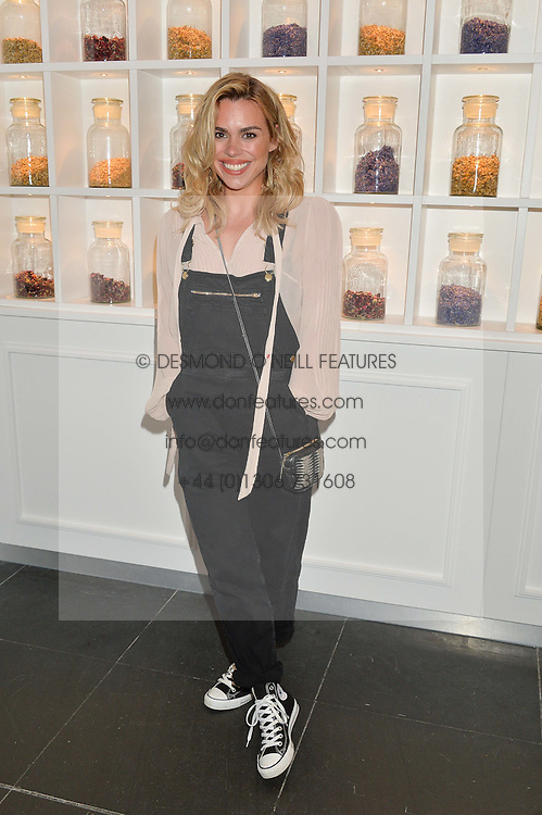 BILLIE PIPER at the launch of hidden bar 'Blind Spot' at St.Martin's Lane Hotel, St.Martin's Lane, London on 6th May 2015.