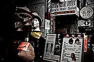 Chinese store signs at Dundas Street, Toronto, Canada