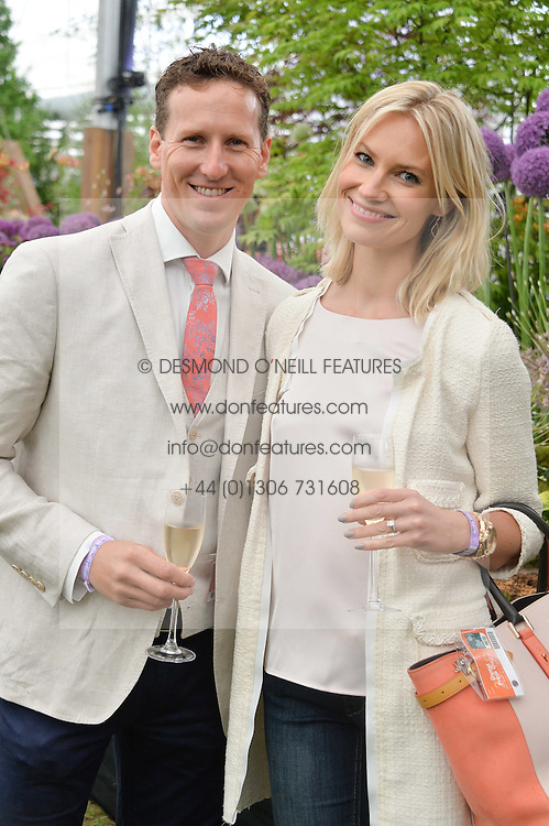 BRENDAN & ZOE COLE at the 2015 RHS Chelsea Flower Show at the Royal Hospital Chelsea, London on 18th May 2015.