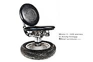 Harley-Davidson Project - Motorcycle Furniture by Andy Gregg / Bike Furniture Design