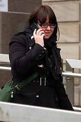 May 1, 2019 - Glasgow, United Kingdom - Natalie McGarry seen exiting from Glasgow Sheriff Court. .The former SNP MP for Glasgow East, Natalie McGarry, was due to be sentenced at Glasgow Sheriff Court, after admitting two charges of embezzlement. However, after hearing the defence motions, Sheriff Paul Crozier has continued matters until 10 May 2019. (Credit Image: © Iain Mcguinness/SOPA Images via ZUMA Wire)