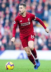 Jordan Henderson of Liverpool - Mandatory by-line: Robbie Stephenson/JMP - 26/12/2018 - FOOTBALL - Anfield - Liverpool, England - Liverpool v Newcastle United - Premier League