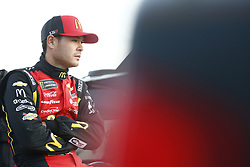 October 19, 2018 - Kansas City, Kansas, United States of America - Kyle Larson (42) hangs out on pit road prior to qualifying for the Hollywood Casino 400 at Kansas Speedway in Kansas City, Kansas. (Credit Image: © Justin R. Noe Asp Inc/ASP via ZUMA Wire)