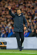 FC Porto manager, Sergio Conceicao during the Group G Europa League match between Rangers FC and FC Porto at Ibrox Stadium, Glasgow, Scotland on 7 November 2019.