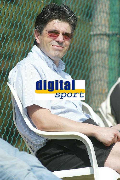 Fotball - Treningsleir La Manga 11. mars 2002. Erik Sol&egrave;r ser p&aring; start. Personer i bildet Erik Soler.<br /> <br /> Foto: Andreas Fadum, Digitalsport