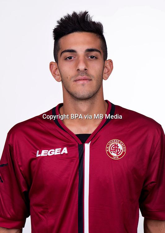 Italian League Serie B_2015-2016 / <br /> ( As Livorno Calcio ) - <br /> Andrea Palazzi