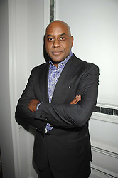 AINSLEY HARRIOTT at a party to promote The Landau at The Langham, Portland Place, London W1 on 7th February 2008.<br />