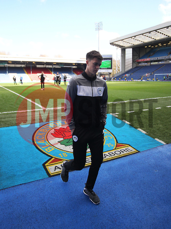 Wigan Athletic's players inspect the pitch before the match - Mandatory by-line: Jack Phillips/JMP - 04/03/2017 - FOOTBALL - Ewood Park - Blackburn, England - Blackburn Rovers v Wigan Athletic - Football League Championship