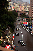 Formula one race cars speed through the winding streets of Monaco during the Gran Prix..©Ed Hille / Picturedesk.net