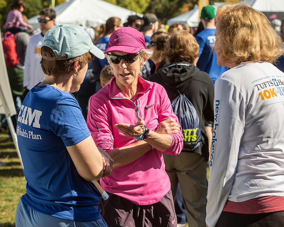 Tufts Health Plan 10K For Women road race , Joan Benoit Samuelson,