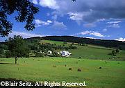 Northeast PA landscape, US route 6, farm and pasture