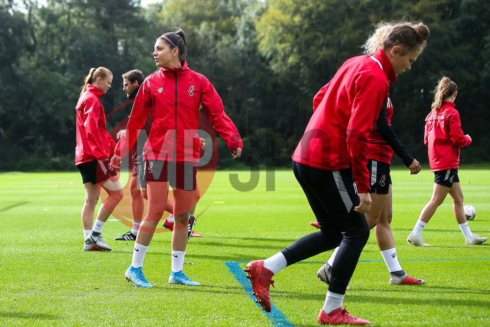 Carla Humphrey of Bristol City Women during training at Failand - Mandatory by-line: Robbie Stephenson/JMP - 26/09/2019 - FOOTBALL - Failand Training Ground - Bristol, England - Bristol City Women Training