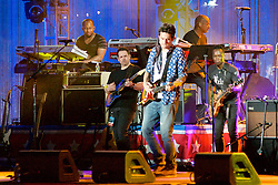 Ben Taylor, Jill Scott, Grace Potter, Hunter Hayes, J.Cole,  John Mayer (pictured here) and Ne-yo take the stage for the Philly 4th of July concert with Questlove and the Roots. (Bas Slabbers/for NewsWorks)