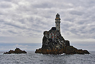 The Fastnet Rock Lighthouse, built in 1854, is a small islet in the Atlantic Ocean and the most southerly point of Ireland in Co. Cork.  The Fastnet Lighthouse is known as The Teardrop of Ireland, the last sight of Ireland for emigrants sailing to America.