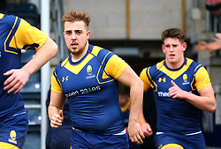 Jake Leonard (Warriors AASE/Worcester Sixth Form College) of Worcester Warriors Under 18s - Mandatory by-line: Robbie Stephenson/JMP - 14/01/2018 - RUGBY - Sixways Stadium - Worcester, England - Worcester Warriors Under 18s v Yorkshire Carnegie Under 18s - Premiership Rugby U18 Academy