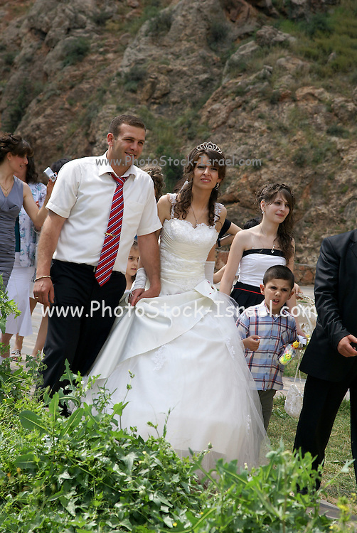 Armenia, Noravank Monastery A wedding procession