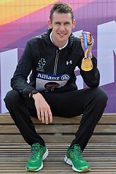 17/07/2017 : Michael McKillop (IRL), T38, Men's 800m, Gold Medal, at the 2017 World Para Athletics Championships, Olympic Stadium, London, United Kingdom