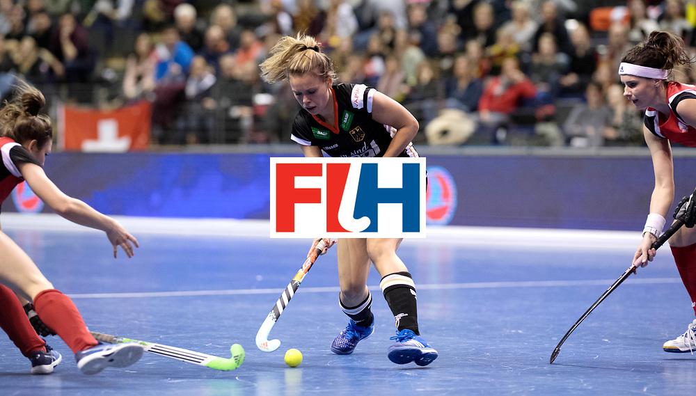 BERLIN - Indoor Hockey World Cup<br /> Quarterfinal 3: Germany - Poland<br /> foto: Anne Schroeder.<br /> WORLDSPORTPICS COPYRIGHT FRANK UIJLENBROEK