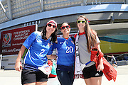 USA fans - Women's World Cup Fans as the tournament comes to Vancouver<br /> <br />  - &copy; David Young - www.davidyoungphoto.co.uk - email: davidyoungphoto@gmail.com
