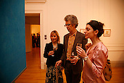 VIRGINIA DAMSTA, PIERS GOUGH AND SHEREEN RAHWANGI. Private View of Space Invader by Florian Balze in Cooperation with the Riflemaker Gallery. German Embassy. 27 March 2006. ONE TIME USE ONLY - DO NOT ARCHIVE  © Copyright Photograph by Dafydd Jones 66 Stockwell Park Rd. London SW9 0DA Tel 020 7733 0108 www.dafjones.com