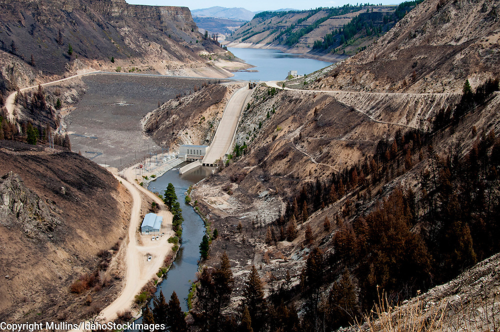 Anderson Ranch Dam on the South Fork of the Boise River, Idaho, Idaho