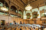 Rathaus innen, Parlament, Hamburg, Deutschland Verwendung nur mit Genehmigung des Hamburger Rathauses.|.interior of guild hall, parliament, Hamburg, Germany