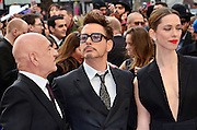 18.APRIL.2013. LONDON<br /> <br /> CELEBRITIES ATTEND THE IRON MAN 3 UK FILM PREMIERE HELD AT THE ODEON CINEMA IN LEICESTER SQUARE, LONDON.<br /> <br /> BYLINE: EDBIMAGEARCHIVE.CO.UK/JOE ALVAREZ<br /> <br /> *THIS IMAGE IS STRICTLY FOR UK NEWSPAPERS AND MAGAZINES ONLY*<br /> *FOR WORLD WIDE SALES AND WEB USE PLEASE CONTACT EDBIMAGEARCHIVE - 0208 954 5968*