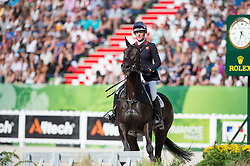 Nicola Wilson, (GBR), Annie Clover - Jumping Eventing - Alltech FEI World Equestrian Games™ 2014 - Normandy, France.<br /> © Hippo Foto Team - Jon Stroud<br /> 31-08-14