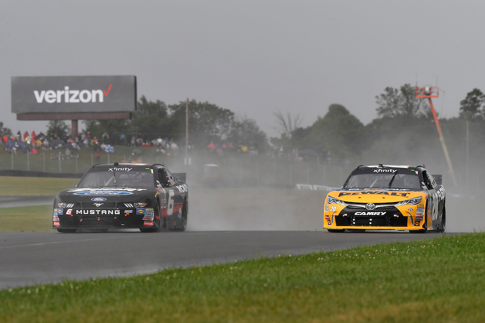 12-13 August, 2016, Lexington, Ohio USA<br /> Darrell Wallace Jr, Erik Jones, DeWalt Toyota Camry<br /> &copy;2016, Scott R LePage <br /> LAT Photo USA
